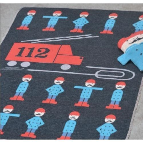 Бебешко одеяло Juwel - Пожарникари